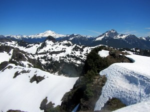 Glacier Peak from Mount Dickerman